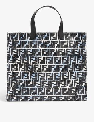 Fendi FF-print coated canvas tote bag