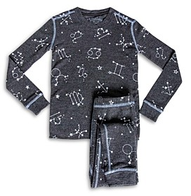 PJ Salvage Girls' Star Sign Print Pajama Set - Little Kid, Big Kid