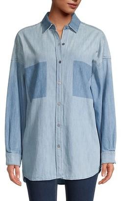 IRO High-Low Denim Shirt