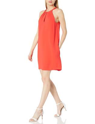 BCBGMAXAZRIA Azria Women's Tristyn Short Halter Woven Cocktail Dress
