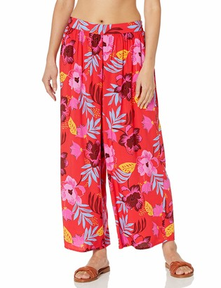 Seafolly Women's Crop Pull On Cover Up Beach Pant