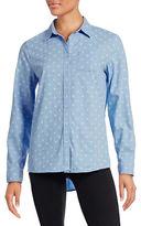 Tommy Hilfiger Sun Dot Split Back Shirt