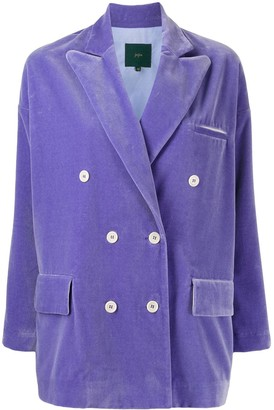 Jejia slouchy double breasted jacket