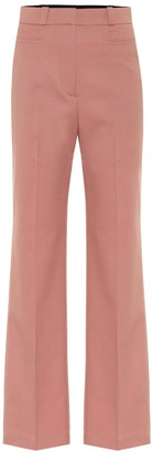 ALEXACHUNG High-rise straight pants