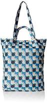 Orla Kiely Poppy Cat Print Packaway Shopper Shoulder Bag