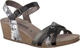 Mephisto Women's Mado Strappy Wedge Sandal Size 9 M