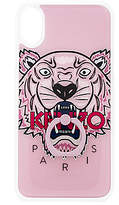 Kenzo Silicone with Ring iPhone X Case