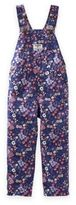 Osh Kosh Floral Overalls in Navy