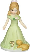 Growing up Girls from Enesco Age 7 Figurine 4.5 IN