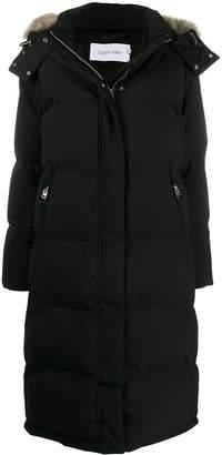 Calvin Klein long puffer jacket