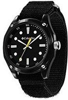 Columbia Frontier Men's Watch Nylon Hook and Loop Strap Closure CA200-001 - Black