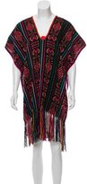 Miguelina Livia Embroidered Poncho w/ Tags