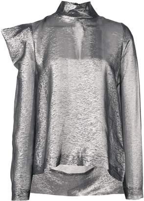 Dice Kayek structured shoulders blouse