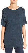 Eileen Fisher Women's Merino Wool Jersey Round Neck Tunic