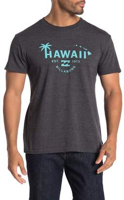Billabong Hawaii Palm Graphic T-Shirt