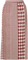 Oscar de la Renta textured pencil skirt
