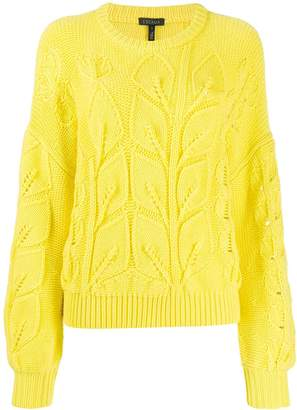 Escada chunky knit jumper