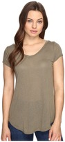 Obey Lou V-Neck Tee Women's T Shirt