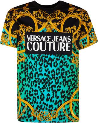 Versace All-over Print T-shirt