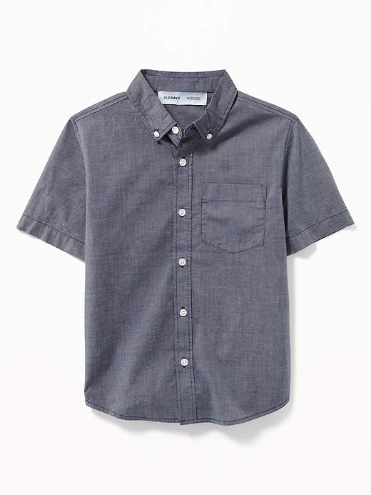 ccf96097 Old Navy Blue Boys' Shirts - ShopStyle