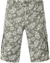 Pt01 paisley print shorts - men - Cotton/Spandex/Elastane - 46