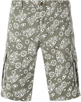 Pt01 paisley print shorts - men - Cotton/Spandex/Elastane - 48