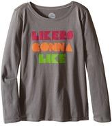 Life is Good Likers Gonna Like Long Sleeve Tee (Little Kids/Big Kids)