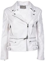 Ermanno Scervino Strappy Biker Jacket