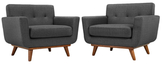 Modway Engage Armchairs (Set of 2)