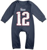 NORAL Babys New England Brady Player Long Sleeve Bodysuit Baby Onesie Size 6 M