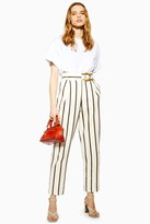 Topshop Stripe Peg Pants