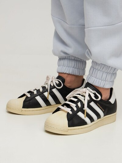 Thumbnail for your product : adidas Superstar Og Leather Sneakers