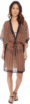 Michael Kors Deco Hexagon Dress Cover-Up