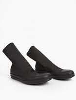 Rick Owens Black Scuba Toe-Cap Boots