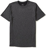 Nike Breathe Hyper Dry Solid Crewneck Short-Sleeve Training Tee
