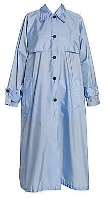 Prada Women's Oversized Trench Coat