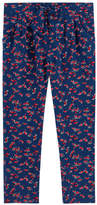 Lili Gaufrette Girl carrot fit printed pants