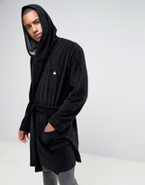 Asos Towelling Robe With Logo