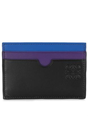 Loewe Colour-Block Leather Cardholder