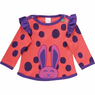 Green Cotton Fred's World by Baby Girls' Circus Rabbit T Shirt