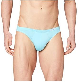 Hom Classic Comfort Micro Briefs (Turquoise) Men's Underwear