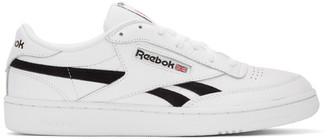 Reebok Classics White and Black Club C Revenge MU Sneakers