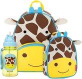 Skip Hop Zoo Backpack, Lunchie & Straw Bottle Set - Giraffe - One Size