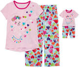 Asstd National Brand 4-pc. Shorts Pajama Set Girls