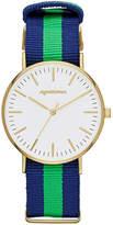Arizona Mens Gold Tone Strap Watch-Fmdarz536