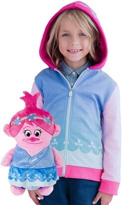 Cubcoats DreamWorks Trolls Poppy 2-in-1 Stuffed Animal Hoodie(Toddler, Little Kid & Big Kid)