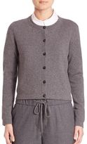 Peserico Virgin Wool, Silk & Cashmere Cardigan
