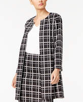 Alfani Petite Printed Jacket, Created for Macy's