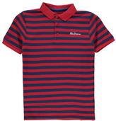 Ben Sherman Pique Strip Polo Shirt
