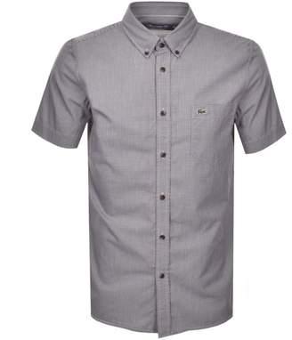 Lacoste Short Sleeved Shirt Burgundy